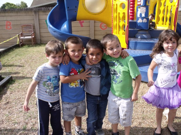 Preschool friends